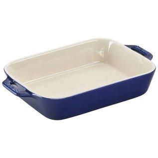 Staub Staub Ceramic Rectangular Baking Dish 7.5 x 6 in Dark Blue
