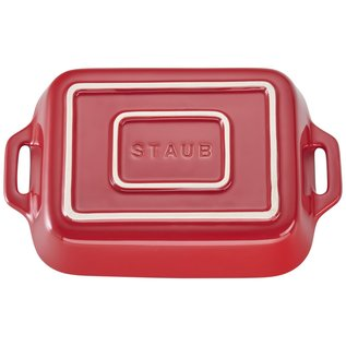 Staub Staub Ceramic Rectangular Baking Dish 7.5 x 6 in Cherry