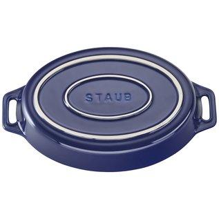 Staub Staub Ceramic Oval Baking Dish 9 inch Dark Blue