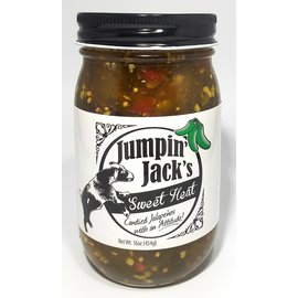 Jumpin Jack's Jumpin' Jack's Sweet Heat Candied Jalapenos 16 oz MIO