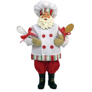 Santa's Workshop Baker Santa 12 inch