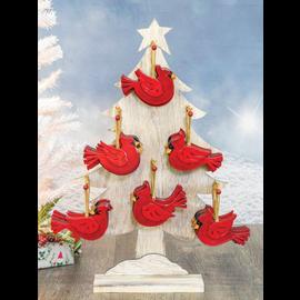 Hanna's Handiworks Cardinal Christmas Ornament Assorted CLOSEOUT/NO RETURNS