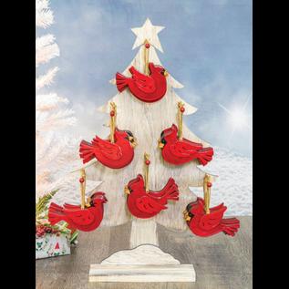 Hanna's Cardinal Christmas Ornament Assorted