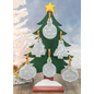 Hanna's Handiworks Frost Holiday Greeting Ornament Assorted CLOSEOUT/NO RETURN