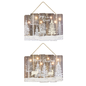 Hanna's Snowy Forest Hanger with Lights Assorted