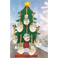 Hanna's Jack Frost Resin Santa or Snowman Ornament Assorted