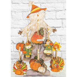 Hanna's Fall Harvest Ornament Assorted
