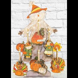 Hanna's Handiworks Fall Harvest Ornament Assorted