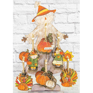 Hanna's Fall Harvest Ornament Assorted