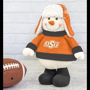 Hanna's Handiworks OSU Chilly Snowman Stander