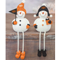 Hanna's Handiworks OSU Resin Snowman Dangle Leg