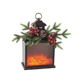 One Hundred 80 Degrees One Hundred 80 Degrees LED Firelight Lantern 10 in x 15 in