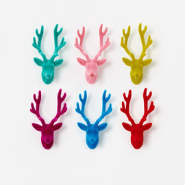 One Hundred 80 Degrees One Hundred 80 Degrees Deer Bust Wall Mount 12 inch Assorted