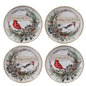 Certified International Certified International Holly & Ivy Dessert Plate Assorted 9 inch