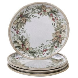 Certified International Certified International Holly & Ivy Dinner Plate 11 inch