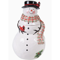 Certified International Certified International Watercolor Snowman 3D Cookie Jar 11""