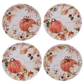 Certified International Certified International Harvest Splash Salad Plate Assorted 9 inch
