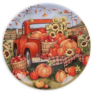 Certified International Certified International Harvest Bounty Round Platter 13 inch