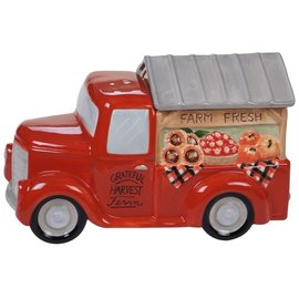 Certified International Certified International Harvest Bounty 3D Truck Cookie Jar 11 inch