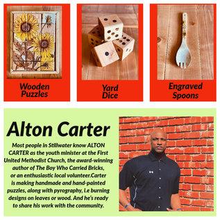 Inspire by Alton Carter Inspire Wooden Utensil Sunflower
