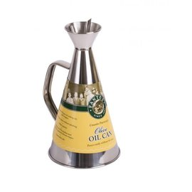 Harold Import Company Inc. HIC Fante's Cousin Patricia's Olive Oil Can Stainless Steel