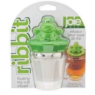 Harold Import Company Inc. HIC Joie Ribbit Frog Floating Tea Infuser