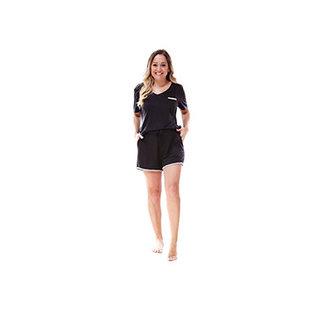 DM Merchandising Inc DM Merchandising Hello Mello Weekender Shorts Black Large