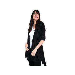 DM Merchandising Inc DM Merchandising Hello Mello Weekender Travel Wrap Black
