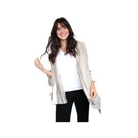 DM Merchandising Inc DM Merchandising Hello Mello Weekender Travel Wrap Oatmeal CLOSEOUT/ NO RETURN