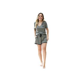 DM Merchandising Inc DM Merchandising Hello Mello Weekender Shorts Moss XL