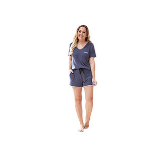 DM Merchandising Inc DM Merchandising Hello Mello Weekender Shorts Navy Small