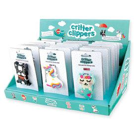 DM Merchandising Inc DM Merchandising Kid's Critter Nail Clippers Assorted
