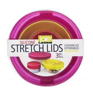 Harold Import Company Inc. HIC Jo!e Silicone Stretch Lids 3 pc Set