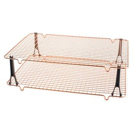 Nordic Ware Nordic Ware Stackable Cooling Grid Set 11.5x16.7 inch Copper
