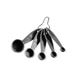 Nordic Ware Nordic Ware Bundt Measuring Spoons 5 pc Storm Gray