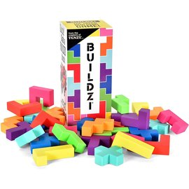 Tenzi Buildzi Fast-Stacking Block-Building Game