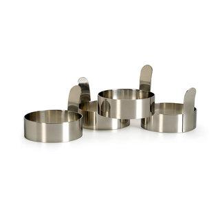 RSVP RSVP Endurance Stainless Steel Egg Rings set of 4