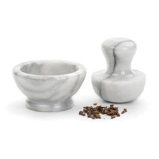 RSVP RSVP Spice Grinder Set Natural White Marble