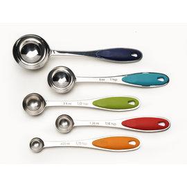 RSVP RSVP Colorful Measuring Spoons Set of 5