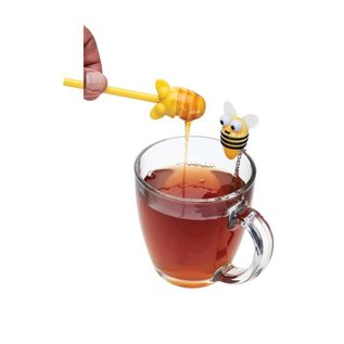 Harold Import Company Inc. HIC Bee Infuser with Honey Dipper