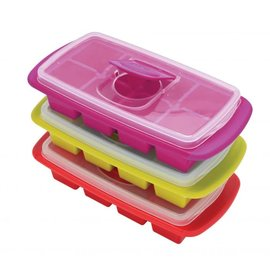 Harold Import Company Inc. HIC Joie Extra Large Ice Cube Tray with Cover Assorted