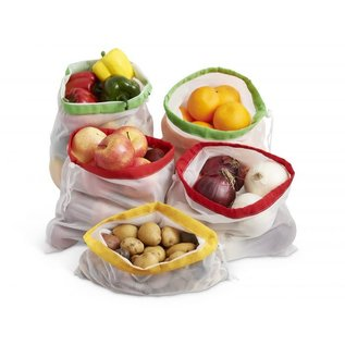 Harold Import Company Inc. HIC Beyond Gourmet Produce Bags set of 5