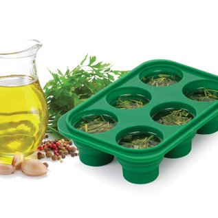 Harold Import Company Inc. HIC Kitchen Prep-N-Freeze Mini Portion Tray 2 oz