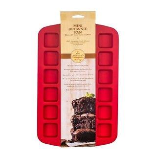 Harold Import Company Inc. HIC Mrs. Anderson's Silicone Mini Brownie Pan