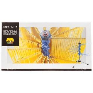 Harold Import Company Inc. HIC Marcato Atlas Pasta Drying Rack Blue