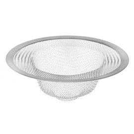 Harold Import Company Inc. HIC Stainless Steel Mesh Sink Strainer 4 inch