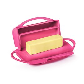 Butterie Butterie Butter Dish Pink LIMITED EDITION