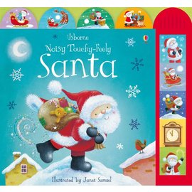 Usborne Usborne Noisy Touchy-Feely Santa