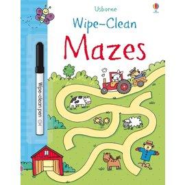 Usborne Usborne Wipe-Clean Mazes