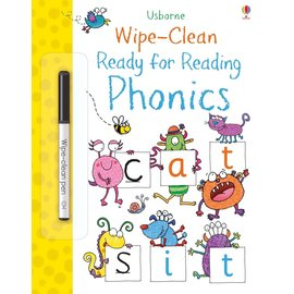 Usborne Usborne Wipe-Clean Ready for Reading Phonics
